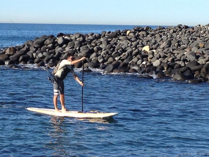 SUP Fishing Pablo Bonilla Surf School